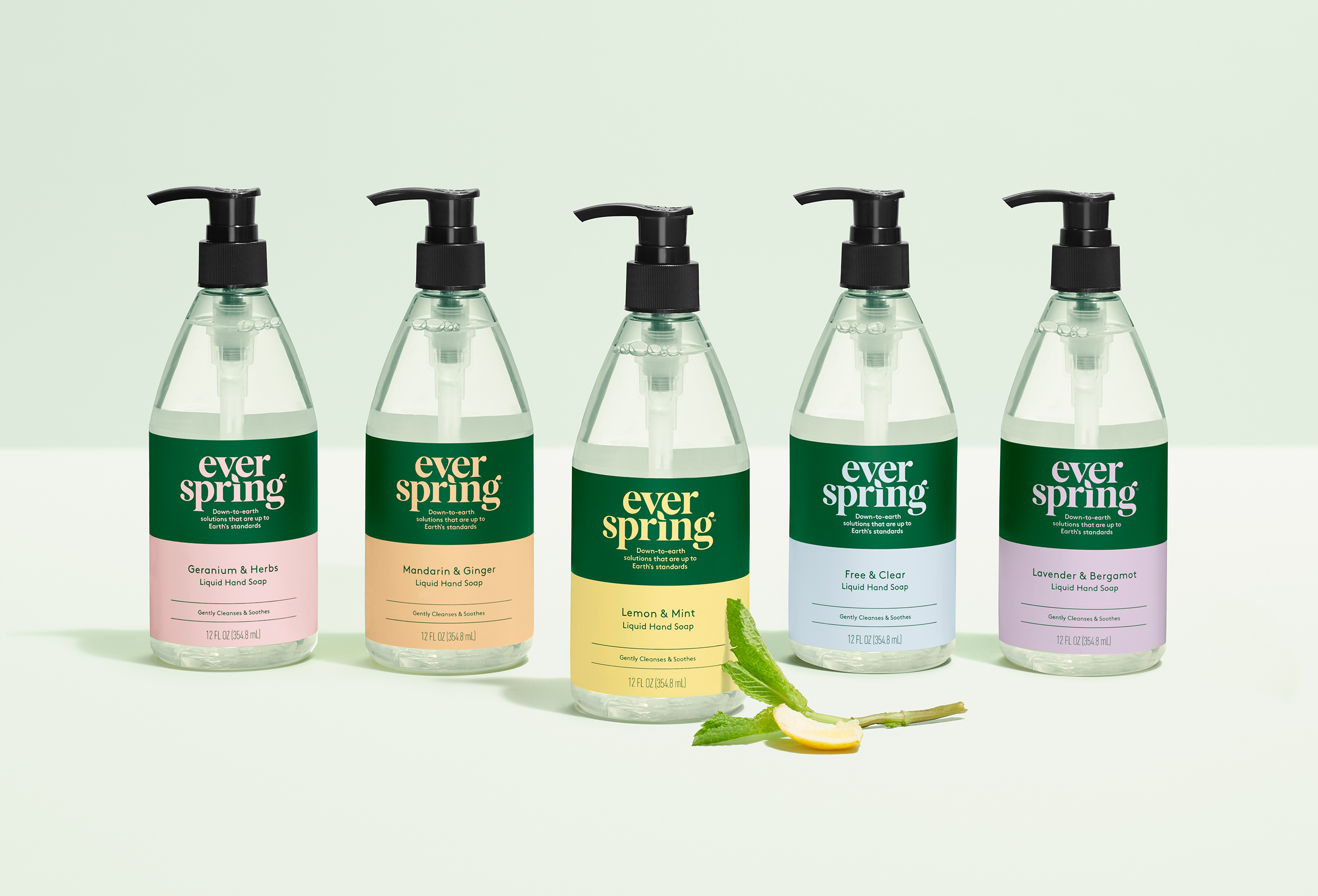 ever spring group of hand soaps
